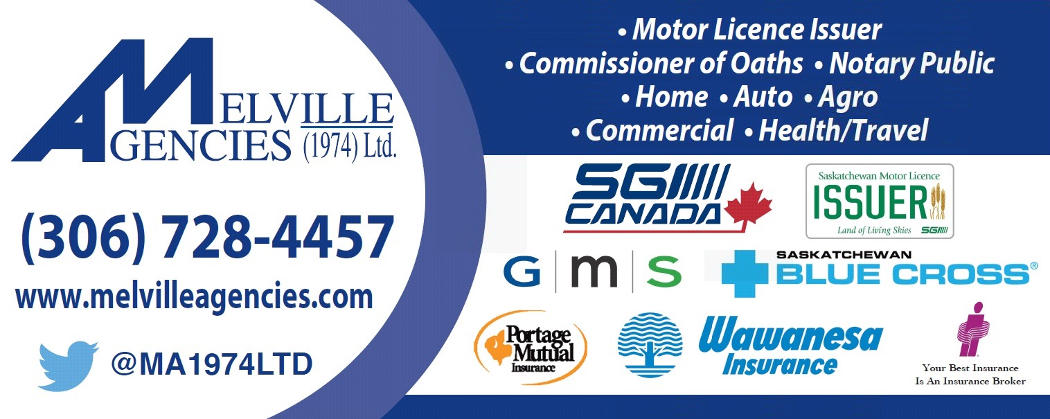 Melville Agencies (1974) Ltd. is your hometown source for all your auto, home, health, commercial, farm, specialty insurance and 24-hour access to online MySGI needs. Our Melville and Springside locations are also SGI motor licence issuers, and we're ready to help.